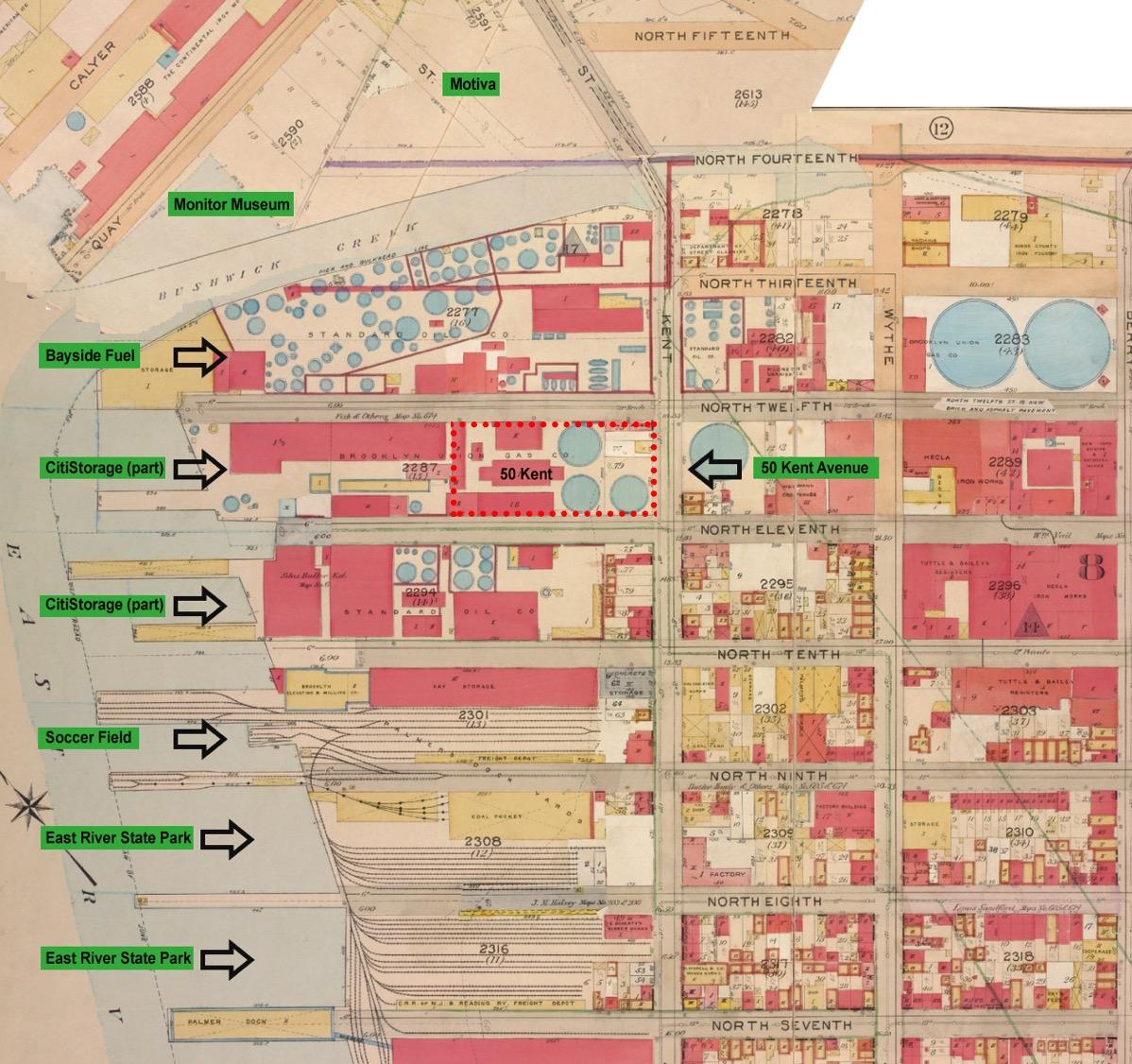 1904 Key Map